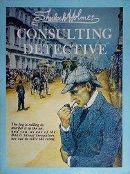 Sherlock Holmes Consulting Detectiven kansi