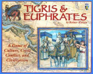 Tigris & Euphrateksen kansi
