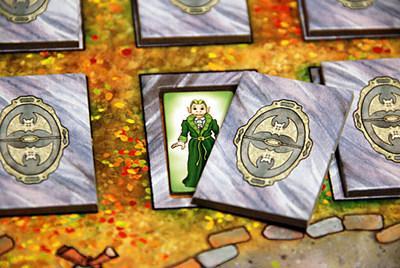 Vimmainen vampyyri haudan levossa. Kuva: John Carlton