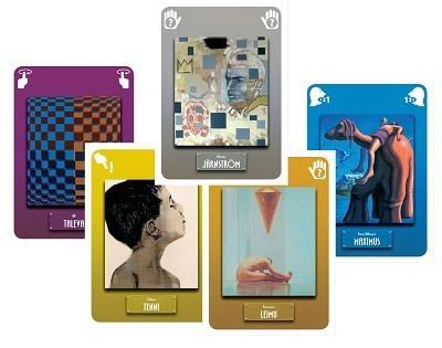Modern Artin kortteja
