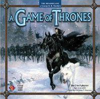 A Game of Thronesin ykköslaitoksen kansi