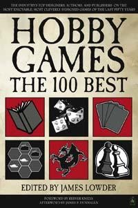 Hobby Games -kirjan kansi