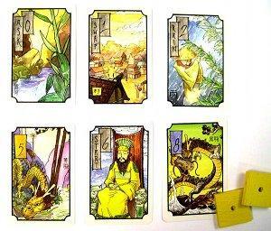 Four Dragonsin kortteja. Kuva: John Carlton