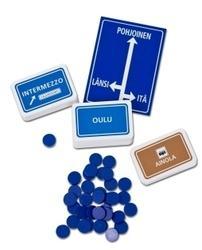 Pelin kortit ja nappulat