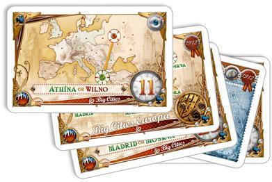 Eurooppa 1912 -kortteja