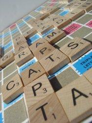 Scrabble-peli käynnissä. Kuva: Arthur / BGG