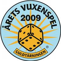 Årets Vuxenspel -logo