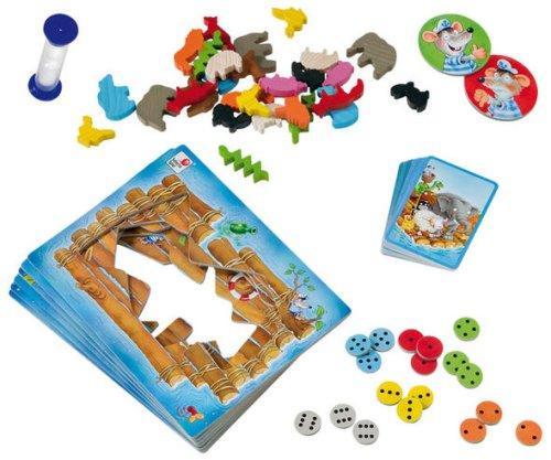 Zoobaloon osat tyylikkäästi levällään. Kuva: Selecta Spielzeug