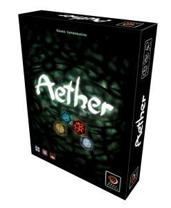 Aether -lautapelin kansikuva