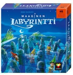 Maaginen labyrintti -kansikuva