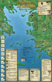 Field Commander: Alexander kampanja