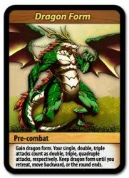 Flash Duel Dragon Form -kortti