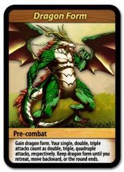 Flash Duel Dragon Form -kortti
