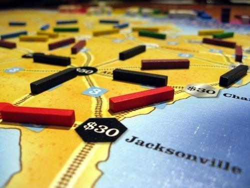Steel Driver -rataa Jacksonvillen nurkilla.
