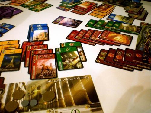 Peli 7 Wondersia käynnissä