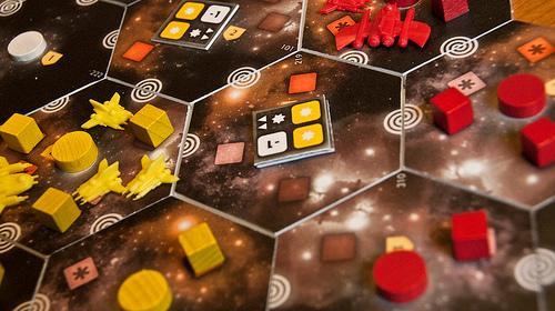 Eclipsen avaruutta ja aluksia
