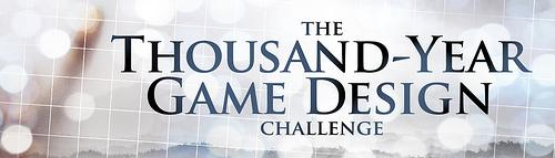 The Thousand-Year Game Design Challenge -logo