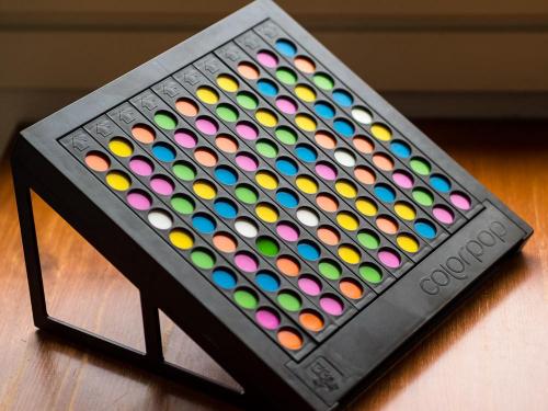 Colorpopin pelilauta. Kuva: Mikko Saari