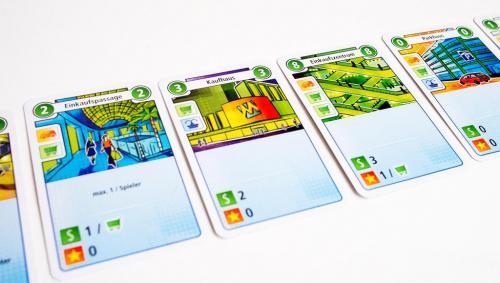 Cityn kortteja. Kuva: Mikko Saari
