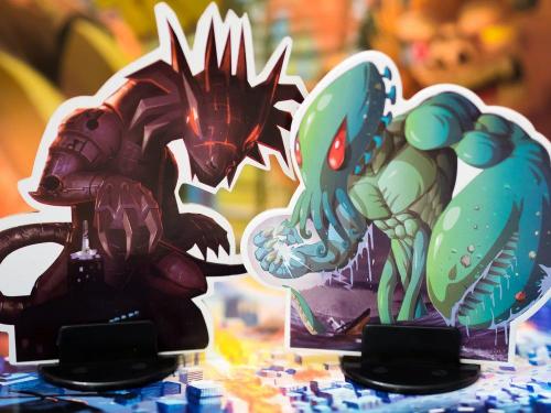 Meka Dragon ja Kraken. Kuva: Mikko Saari