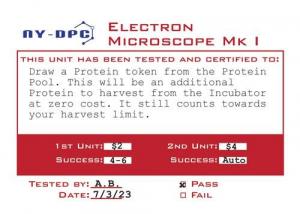 Elektronimikroskooppi auttaa tutkimuksissa. Kuva: Victory Point Games