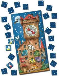 Kellotorni ja kummitukset. Kuva: Amigo