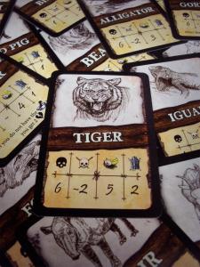 Tiikeri on vahva vastustaja. Kuva: Sampsa Ritvanen