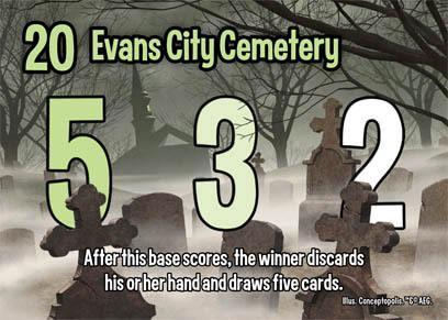 Evans Cityn hautausmaa. Kuva: AEG