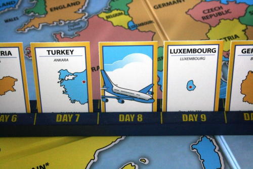 10 Days in Europe. Kuva: Mike Hulsebus / BGG