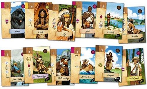Lewis & Clarkin kortteja. Kuva: Ludonaute