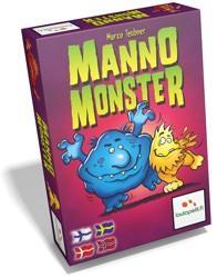 Manno Monsterin kansi