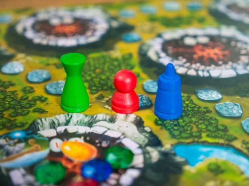 Pelinappuloita. Kuva: Mikko Saari