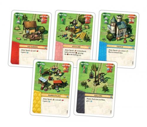 Yleisen pakan kortteja. Kuva: Portal Games