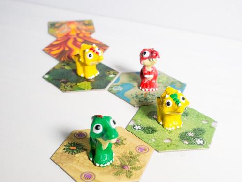 Dino Race on näyttävä peli. Kuva: Mikko Saari