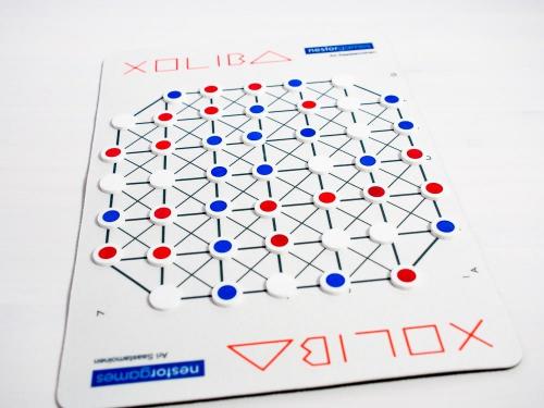 Xoliba-lauta. Kuva: Mikko Saari