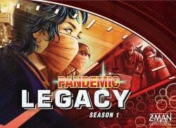 Pandemic Legacyn kansi