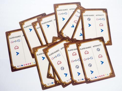 Automa-kortit. Kuva: Mikko Saari
