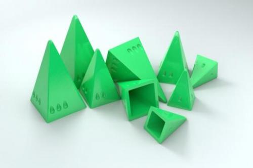 Pyramid Arcaden bonuspyramidit