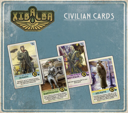 Xibalban kortteja