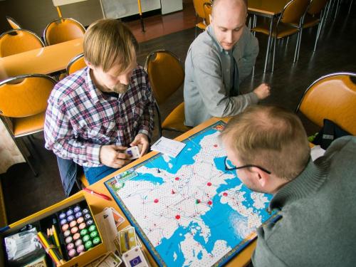 Eurorailsia Junaconissa 2014. Kuva: Mikko Saari