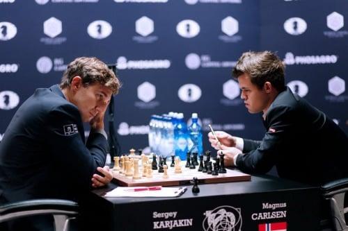 Karjakin ja Carlsen