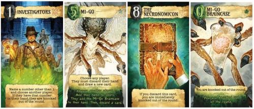 Lovecraft Letterin kortteja
