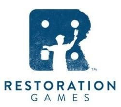 Restoration Gamesin logo