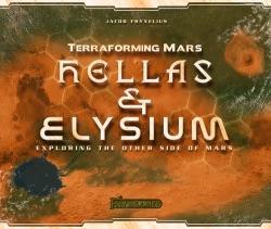 Terraforming Mars: Hellas & Elysiumin kansi