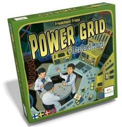 Power Grid Korttipelin kansi