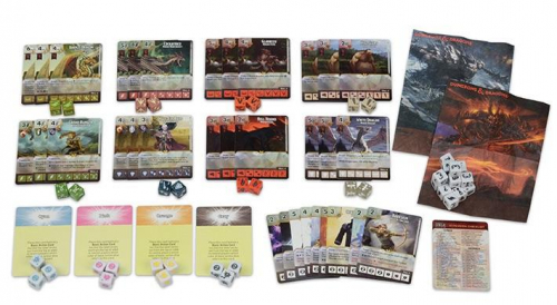 Dungeons & Dragons Dicemasters Faerûn Under Siegen sisältö