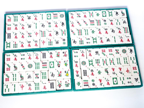 Mahjong-tiiliä