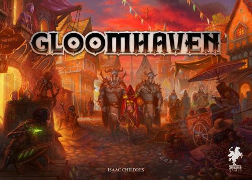 Gloomhavenin kansi