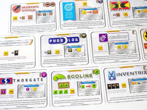 Yrityskortteja