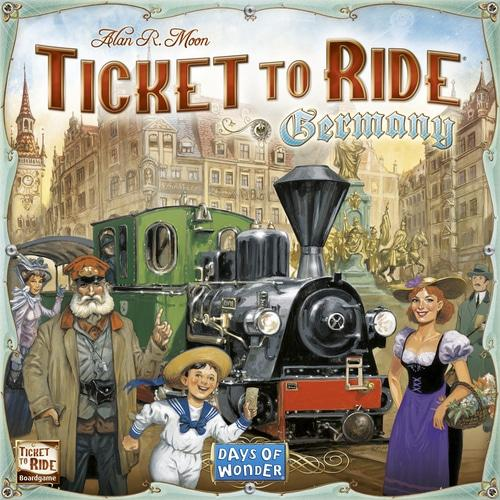 Ticket to Ride: Germanyn kansi
